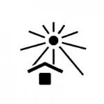 日中の日光を遮断する:夏の節電